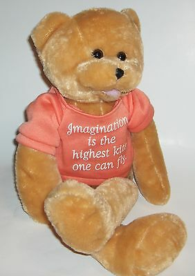 CHANTILLY LANE BEAR  Musical Stuffed Animal  sings: That's what friends are for.
