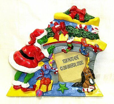 Universal Studios How The Grinch Stole Christmas Photo Picture Frame Brand New