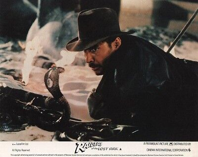 RAIDERS OF THE LOST ARK  lobby cards - HARRISON FORD mini repro set
