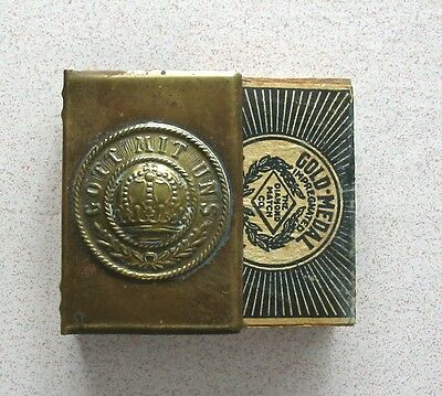 WWI German Matchbox Cover