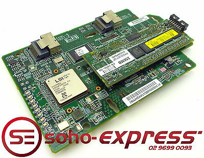 Lsi Hp Smart Array P400I Pcie X8 Sas Raid Card 256Mb Module 412206-001 Dl360 G5