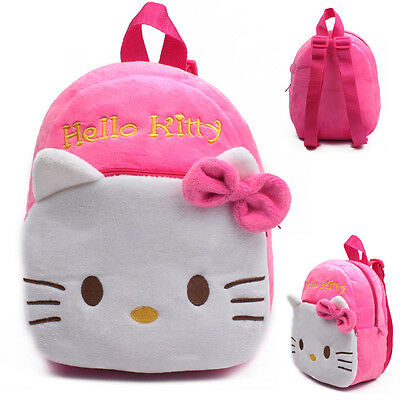 Baby Toddler Child Girls Mini Hello kitty Backpack Schoolbag Shoulder Bag &1