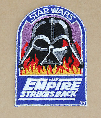 """Star Wars Cast and Crew Patch  """"Vader in Flames""""    original vintage from 1982"""