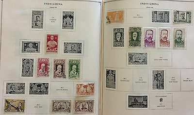 Indo-China 1943/46  Lot Of 13 Stamps Mlh* & Used Spl