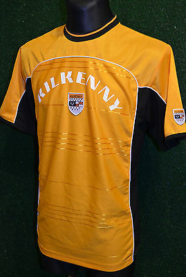 Kilkenny County Supporters Gaa Gaelic Hurling Football Shirt (M) Jersey Top Rare