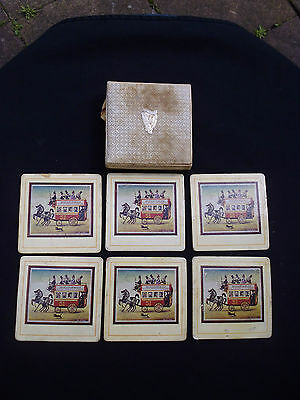 Rare Vintage Boxed Set of Guinness Coasters