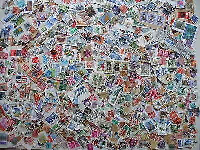 Nice Lot Of 125 Grams  Stamps Worldwide On /off Paper,