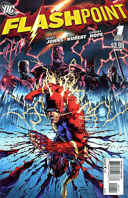 DC - THE COMPLETE FLASHPOINT SAGA - COMICS on DVD