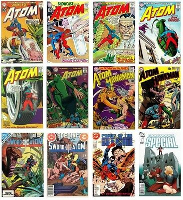Silver Age - The Atom - 100+ Comics Collection On Dvd