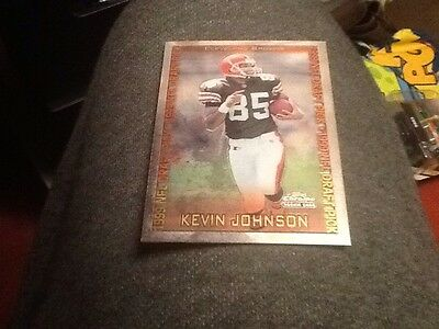 1999 Topps Chrome Nfl Rookie Card RC #148 Kevin Johnson