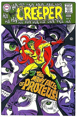 """Beware, the Creeper #2  VF  1968    """"strict grading"""" and """"1 day shipping"""""""