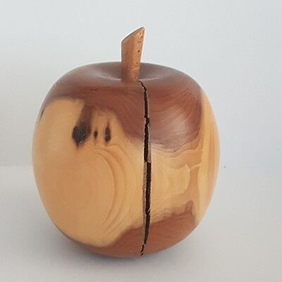 Decorative Wooden Apple - Wood Turned