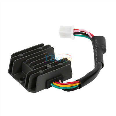 12V 5 Wire Voltage Rectifier Regulator For GY6 Engine Motorcycle Quad ATV Buggy