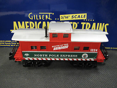 American Flyer (by Lionel) S-gauge - Reindeer Animated Caboose 6-49062 (2012)