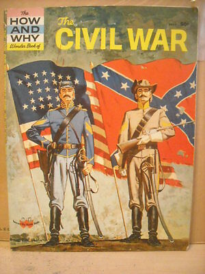 Vintage The How and Why Wonder Book of the Civil War 1961