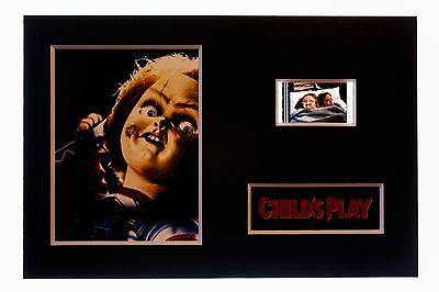 """Childs Play """"Chucky"""" -  6 x 4 Unframed movie film cell display great gift"""