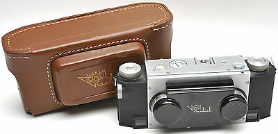 STEREO 3 - D REALIST Camera 3.5 David White Lens w/case & Filters