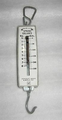 Harcourt, Brace, & World Hanging Spring Scale - Metal - 8 Oz # 7110166