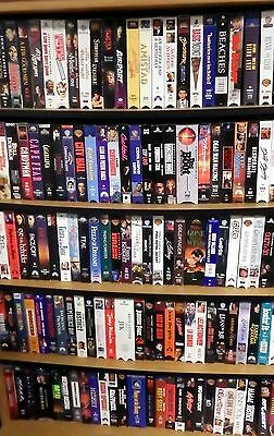 VHS Movie Tapes for Sale –  Pick 20 for $10 - Fifty cents each!