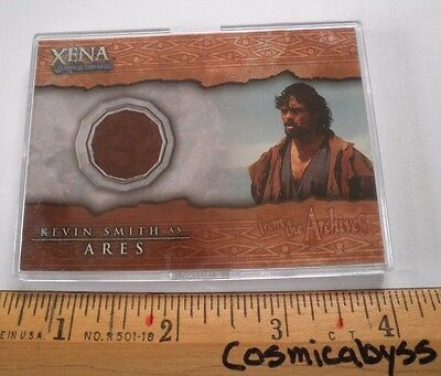 Xena Warrior Princess costume card C1 Kevin Smith ARES