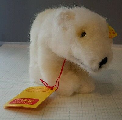 "New Vintage Steiff ""starly"" Polar Bear #1447,17"