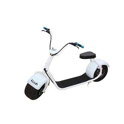 Kush Steezer Adult's Electric Scooter White Color