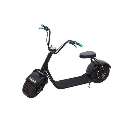 Kush Steezer Adult's Electric Scooter Black Color