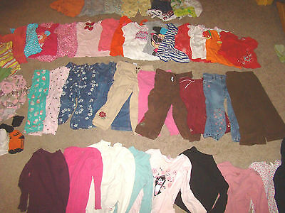 Huge 2T 3T Girls lot 60 Pieces Baby Gap Gymboree Old Navy Childrens Place shoes