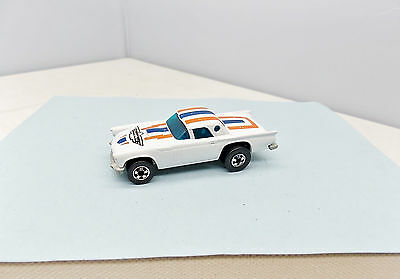Hot Wheels '57 T-Bird - White - EXCELLENT - Vintage Ford Blackwall