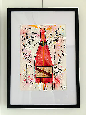"""G.H. MUMM I"", Original Art (Framed)"