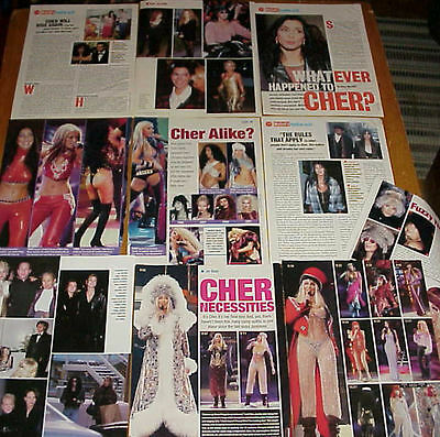 Cher Clippings 3 Lots #121716