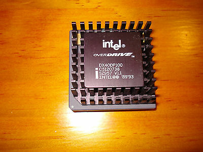 Intel DX4 Overdrive 100MHz CPU