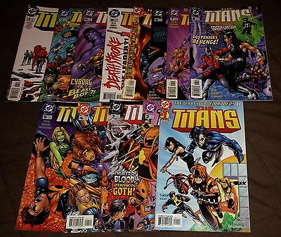 The Titans #1-13 DC Comics Teen Titans