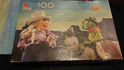 Vintage Muppets Puzzle - Good Condition and Complete!