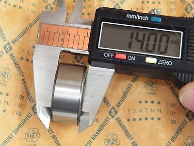 BRANDROST Bearing 3200 2RS; INT 10MM, EXT 30MM, THICKNESS 14MM