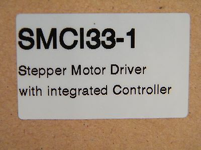 New Nanotec SMCI33-1 Stepper Motor Driver With Integrated Controller