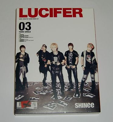 SHINee LUCIFER Japan First Limited Type B CD+DVD+Photo Booklet