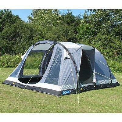 RPR:£680 Kampa Oxwich 5 Air Tent - SUPER CHEAP! Grab a bargain! Hiking Outdoor