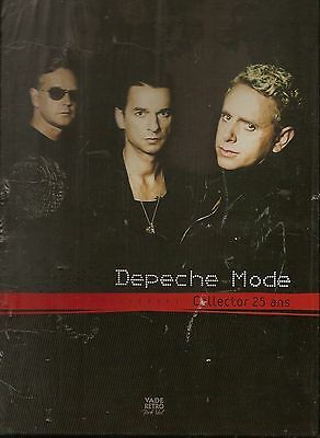 DEPECHE MODE -1981-2006 - Collector 25ans ( Dave Gahan ) French book