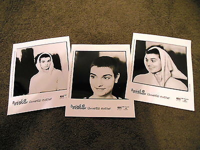 SINEAD O'CONNOR 3 x Universal Mother Press Kit 8x10 Photos ONLY Lot