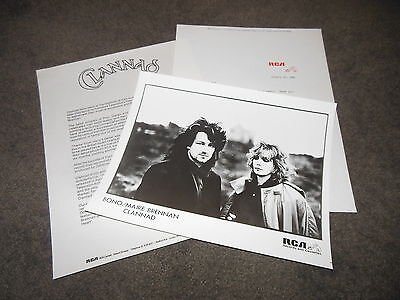 CLANNAD In A Lifetime Press Kit With 8x10 Photo BONO U2 MAIRE BRENNAN
