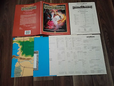AD&D 2nd EDITION DUNGEONS&DRAGONS DIE WÜSTENREICHE VERGESSENE FORGOTTEN REALMS