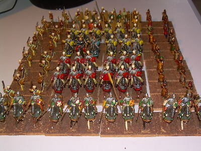 25mm Painted Metal Ancient Sassanid Persian Army (137 pieces)