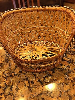 Wicker Barbie Doll Chair