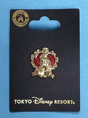 New Tokyo Disney Resort Alice in wonderland Pin badge Emblem style JAPAN SEA F/S