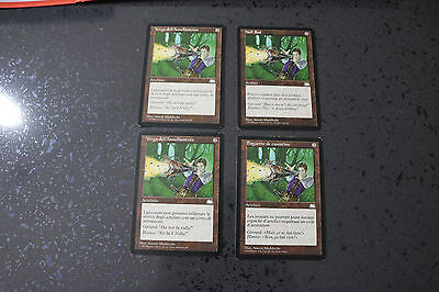 MTG 4x Null Rod in 3 lingue diverse