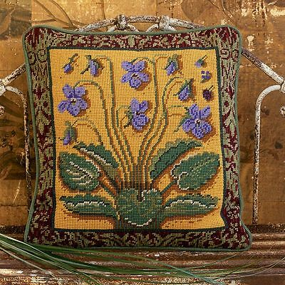 Ehrman Sweet Violet Medieval Tapestry/ Needlepoint Kit Candace Bahouth - Retired