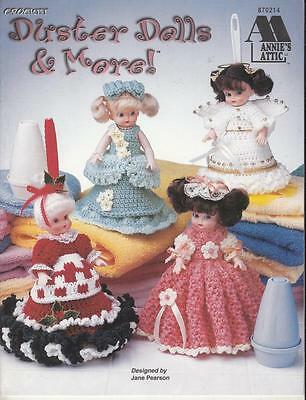 DUSTER DOLLS & MORE CROCHET PATTERN BOOK - By ANNIE'S ATTIC - Air Freshener