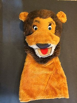 STEIFF Lion Puppet- RARE -MADE IN GERMANY HAND PUPPET