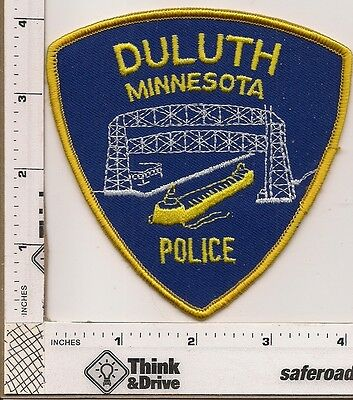 Duluth Police. Old Style. Minnesota.